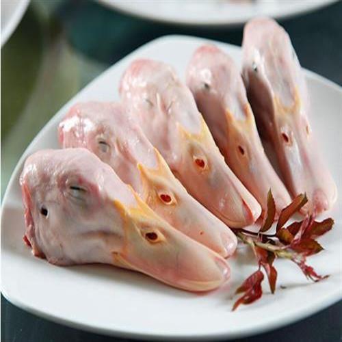 厂家直销批发各种速冻鸭副产品鸭头鸭脖